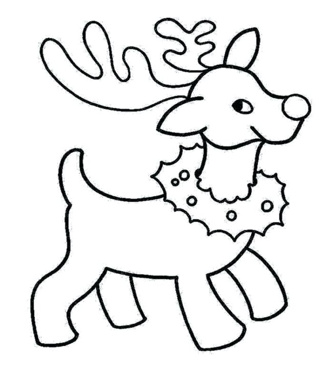 651x728 Preschool Coloring Pages Christmas Images Of Printable Holiday