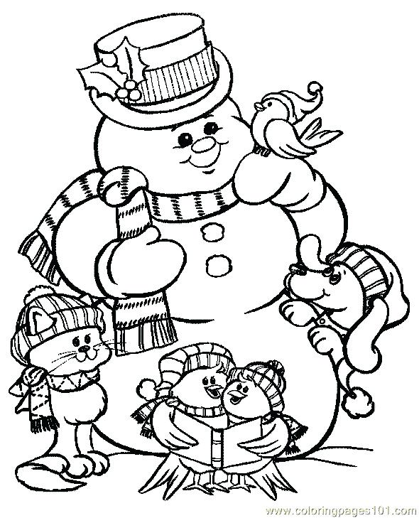 590x729 Coloring Pages For Christmas Printable Coloring Pages For Kids