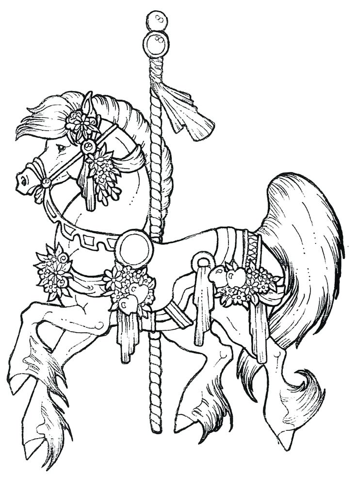 736x982 Holiday Horse Coloring Pages Beautiful For Kids Crayola Photo