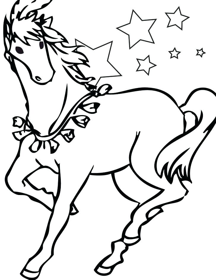 728x942 Horses Pictures To Color S Horse Coloring Page Games