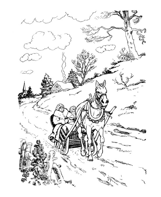 553x678 The Classic Christmas Coloring Page