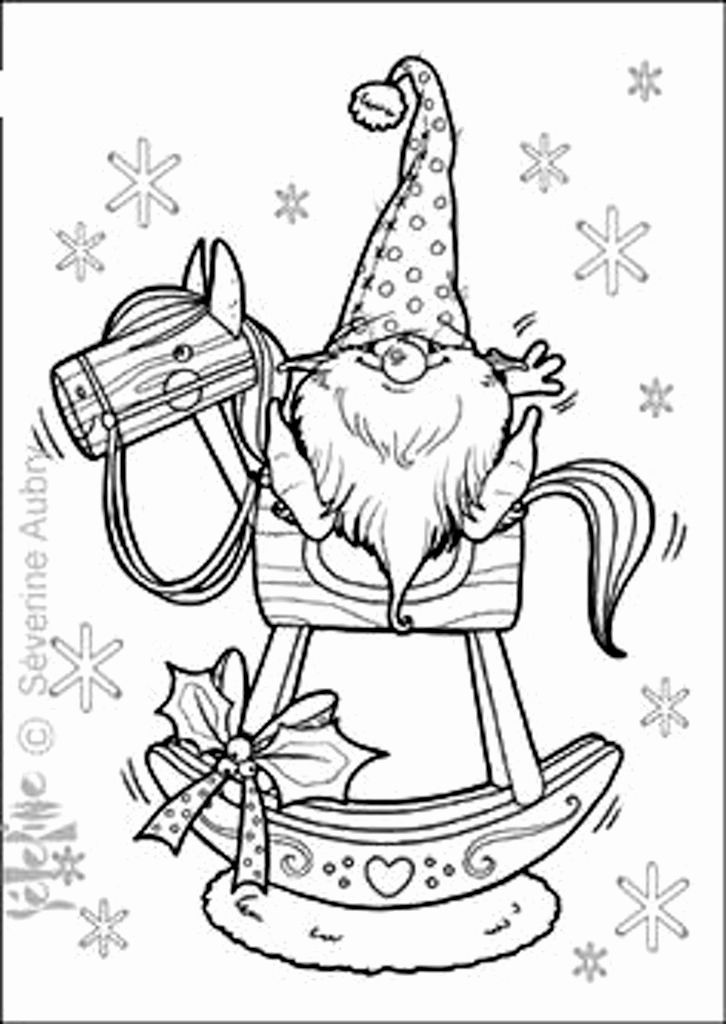 726x1024 Christmas Horse Coloring Pages