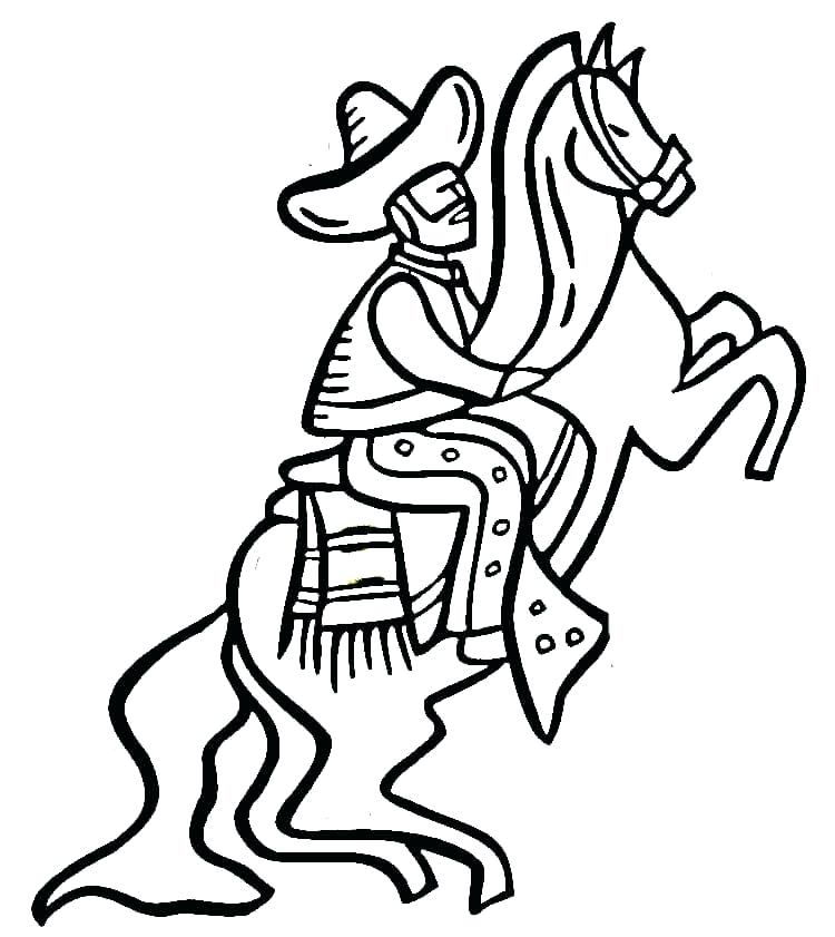 750x841 Mexico Coloring Page On The Horse Coloring Page Free Mexican