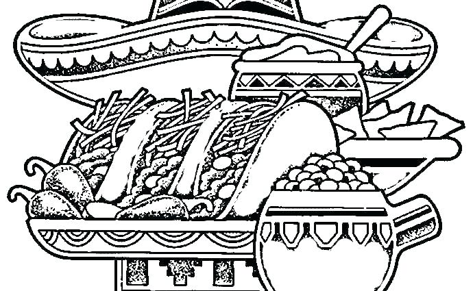 690x425 Mexico Coloring Pages Coloring Page Great Flag Coloring Page Nice
