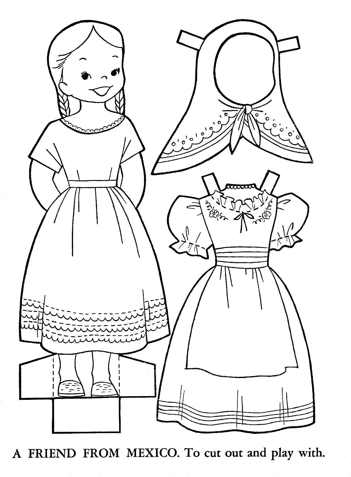 1143x1552 Practical Mexican Coloring Sheets New Pages Free Download