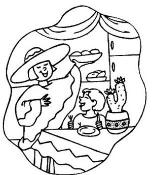 300x344 Days Christmas In Mexico Coloring Pages