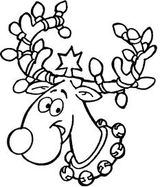 Christmas Lights Coloring Pages Printable at GetDrawings.com | Free ...