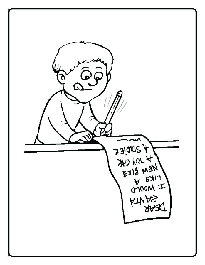 698x903 Christmas List Coloring Page List Coloring Page Coloring Pages