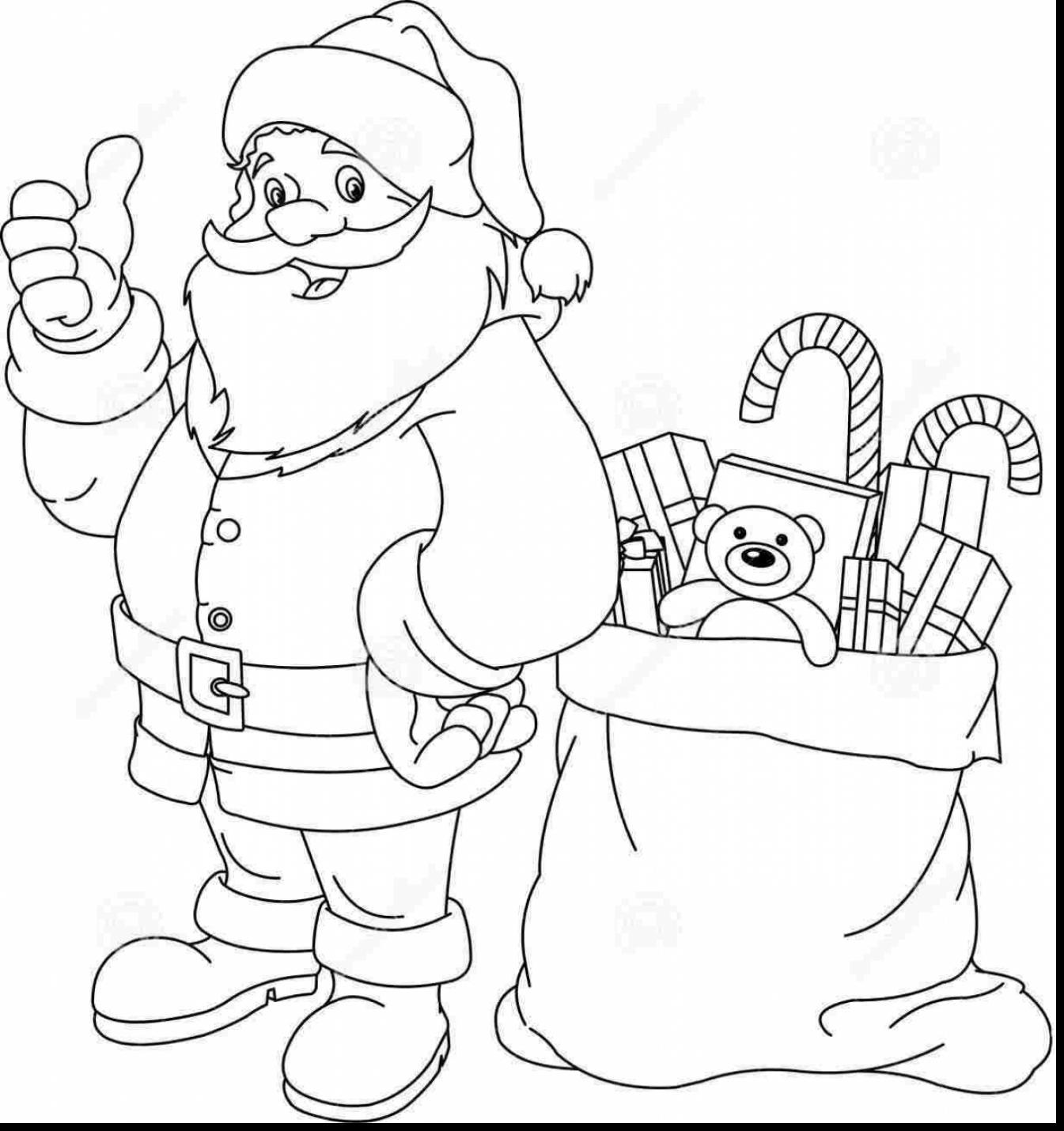 1345x1430 Christmas Wish List Coloring Page
