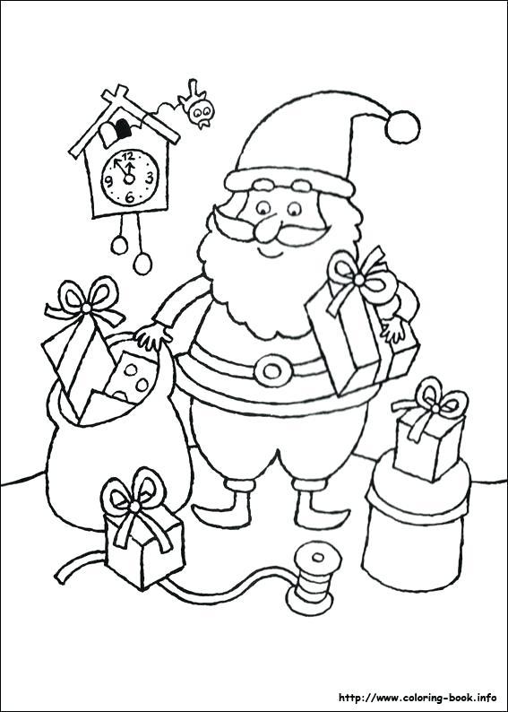 567x794 Christmas Wish List Coloring Page More Like This Santa Christmas
