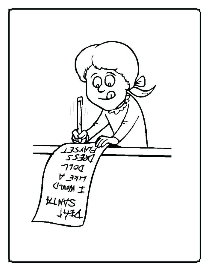 698x903 My Christmas List Coloring Page Wish To Pages Moms Who Think