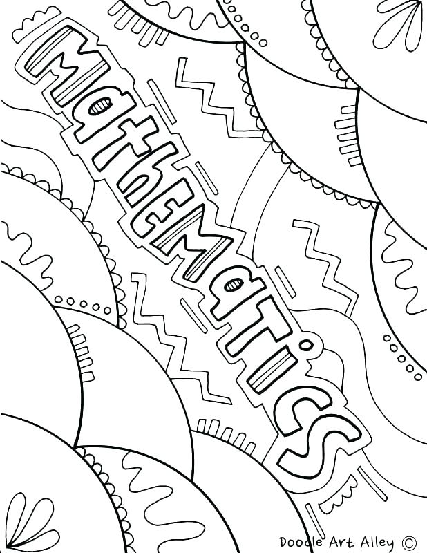 618x800 Math Coloring Pages Math Color Page Free Printable Math Coloring