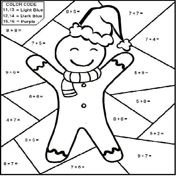 600x600 Math Coloring Pages