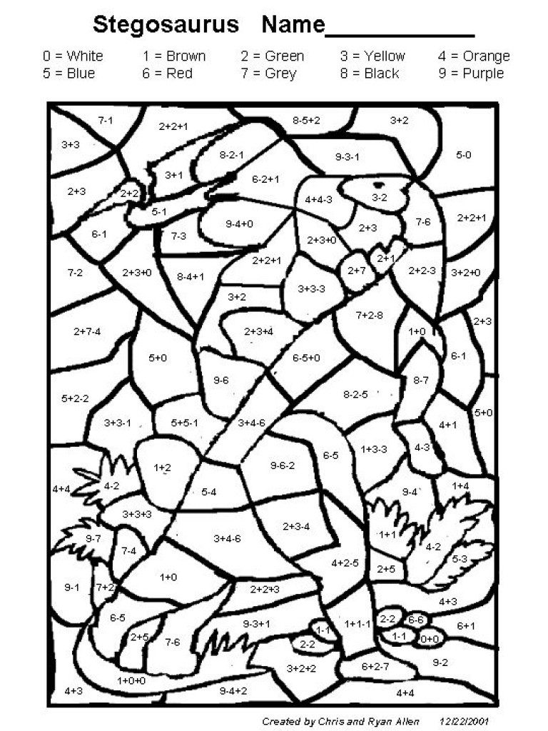 768x1024 Christmas Math Coloring Pages Grade Copy Worksheets