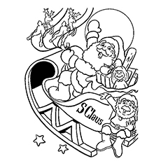 230x230 Top Free Printable Christmas Coloring Pages Online