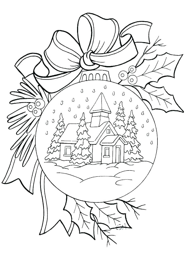 736x1011 Coloring Mistletoe Coloring Pages State Flower Page Orange