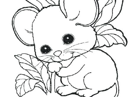 440x330 Cute Mouse Coloring Pages Cute Coloring Pages Free Baby Mouse