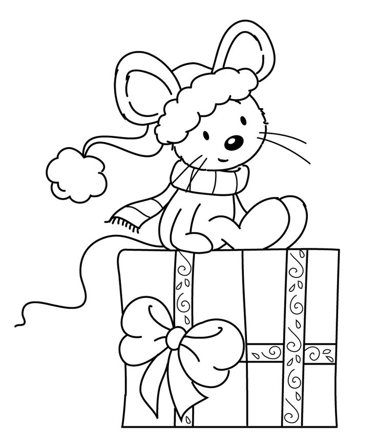 736x856 Best Christmaswinter Coloring Pages Images