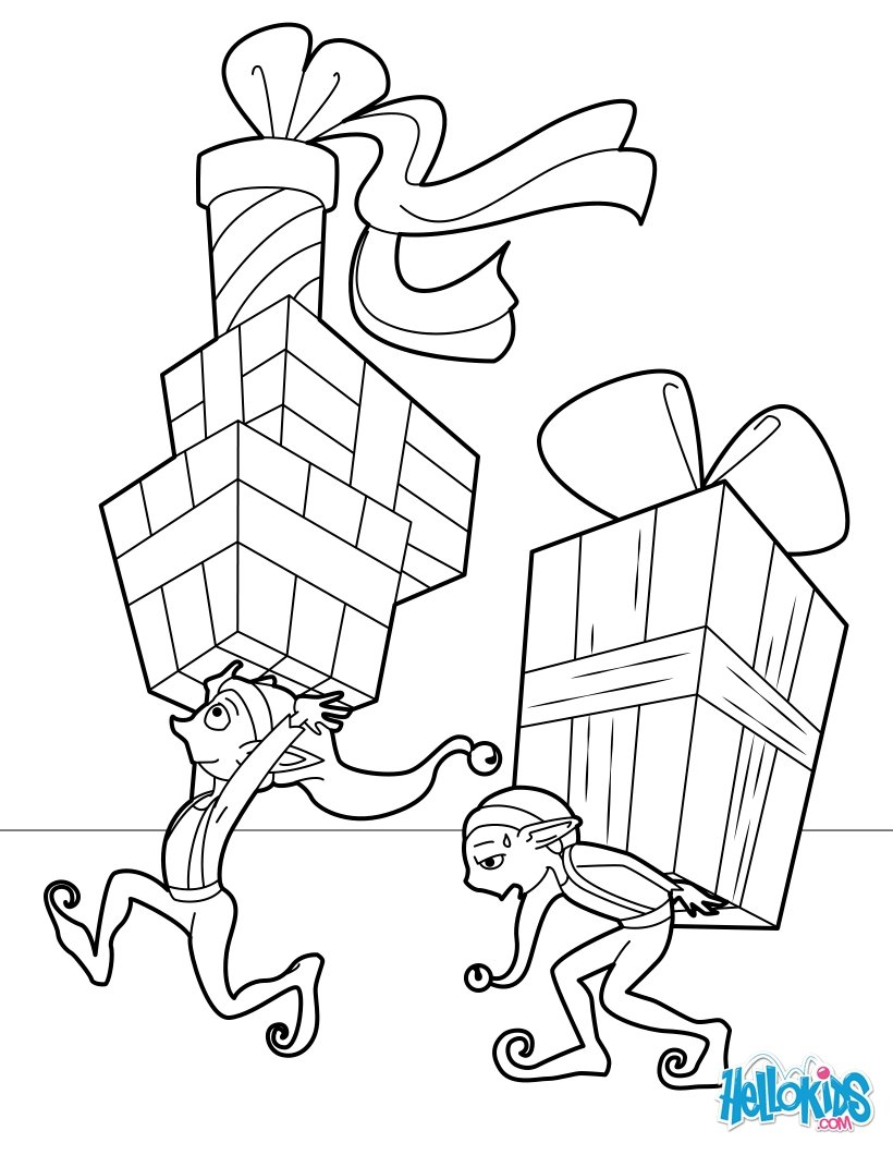 820x1060 Elf Movie Coloring Pages