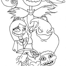 234x234 Movie Coloring Pages Download