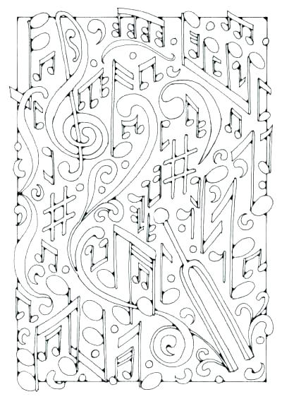 400x565 Music Coloring Page Music Coloring Pages Printable Music Coloring