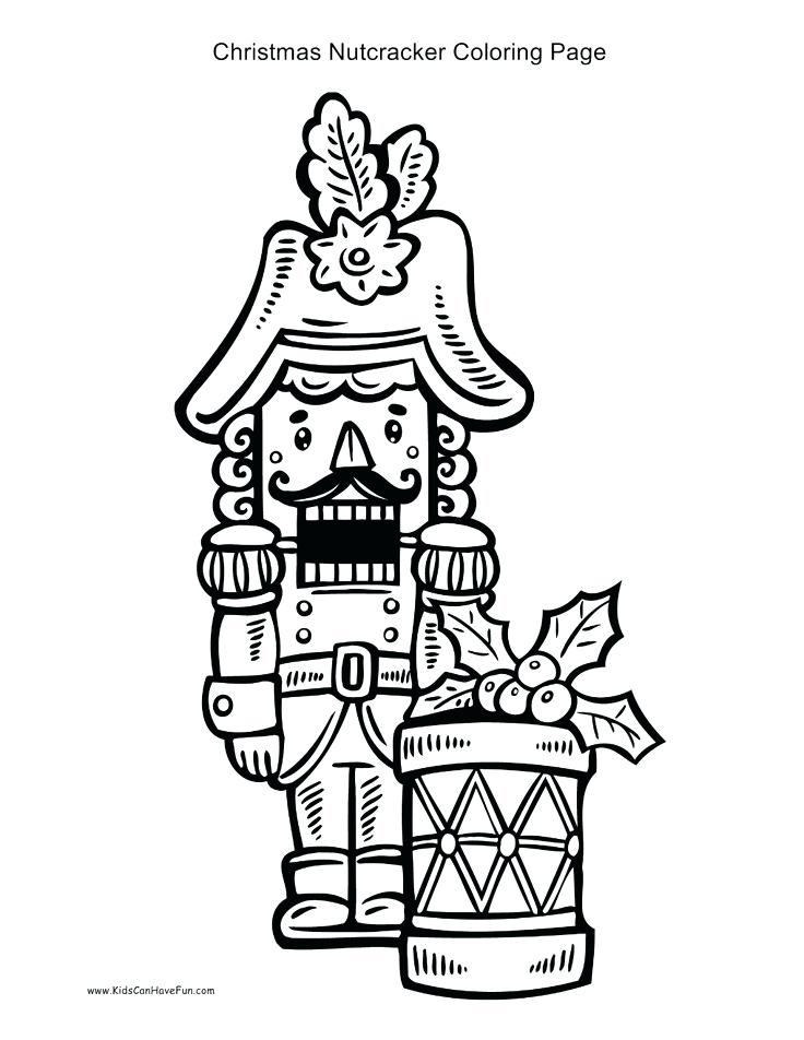 736x952 Nutcracker Coloring Pages Good Nutcracker Coloring Pages Wall