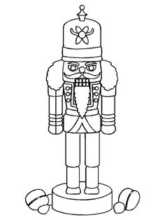 236x314 Printable Nutcracker Coloring Pages For Kids Fairy