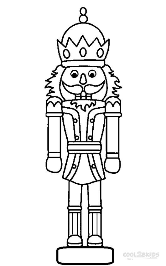 530x850 Printable Nutcracker Coloring Pages For Kids