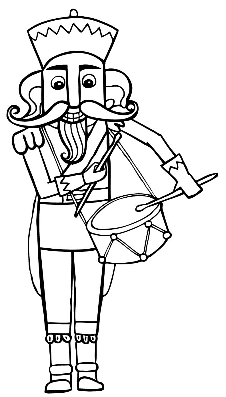 791x1386 Free Printable Nutcracker Coloring Pages For Kids Christmas
