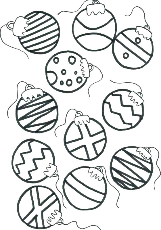 560x800 Christmas Ornaments Coloring Pages Ornament Coloring Pages Free