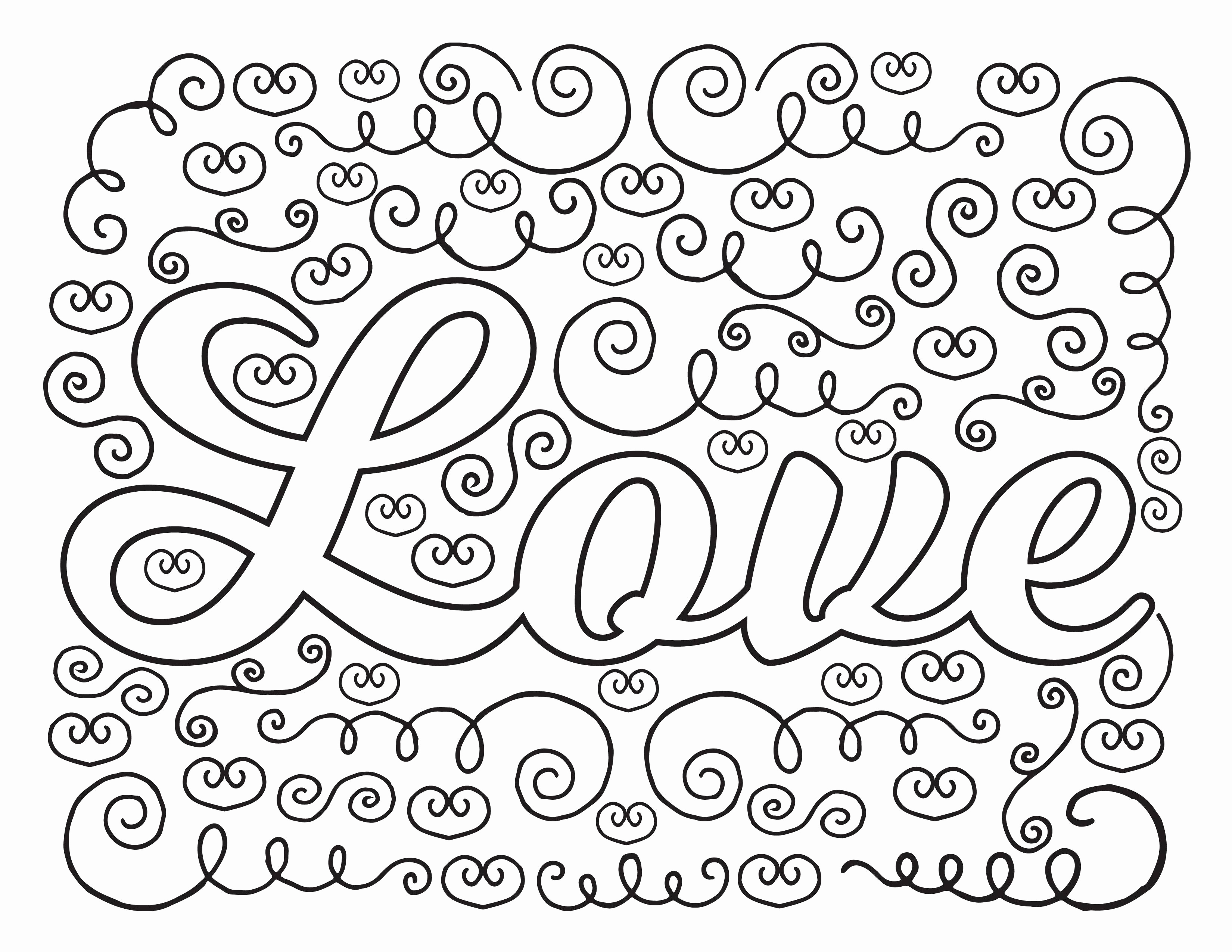 3300x2550 Printable Christmas Coloring Pages Free Free Christmas Ornaments