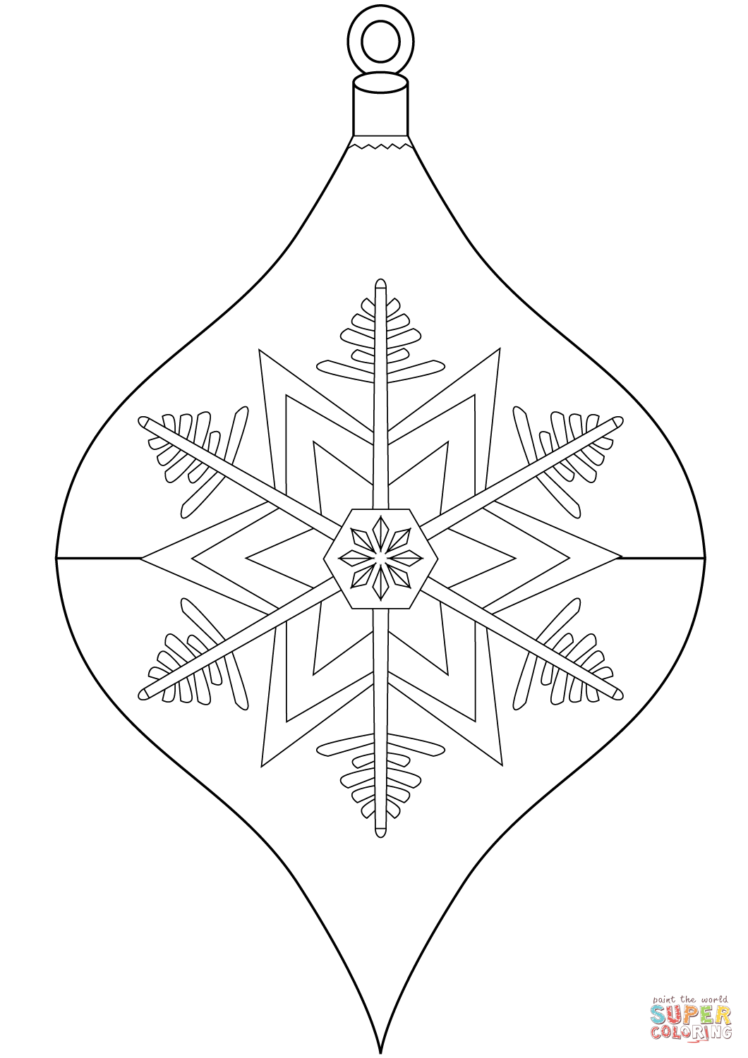 1060x1500 Christmas Ornament Coloring Page Free Printable Coloring Pages