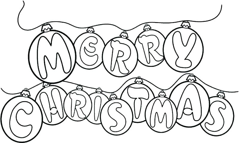 800x479 Christmas Ornaments Coloring Pages