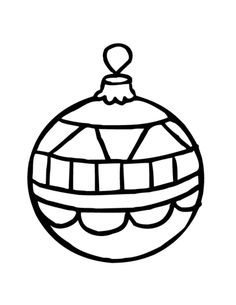 236x305 Coloring Christmas Ornaments Agus Coloring Pages Holiday