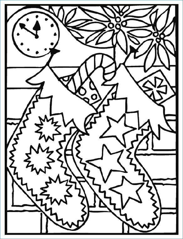 584x762 Bell Christmas Ornament Merry Christmas Coloring Page