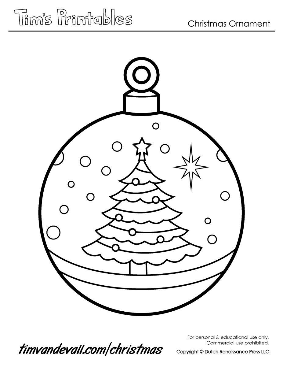 927x1200 Cool Christmas Bells Coloring Page And Pages Itgod Me In Ornaments