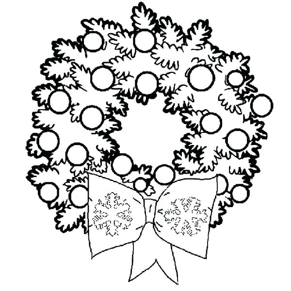600x600 Christmas Decorations Coloring Ornaments Coloring Pages Coloring