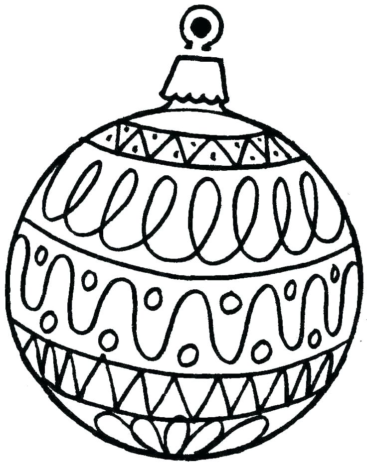 image about Christmas Ornaments Coloring Pages Printable called The ideal no cost Xmas ornament coloring web site pics