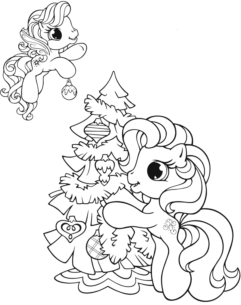 800x1014 Christmas Party Invitation Reindeer Coloring Page