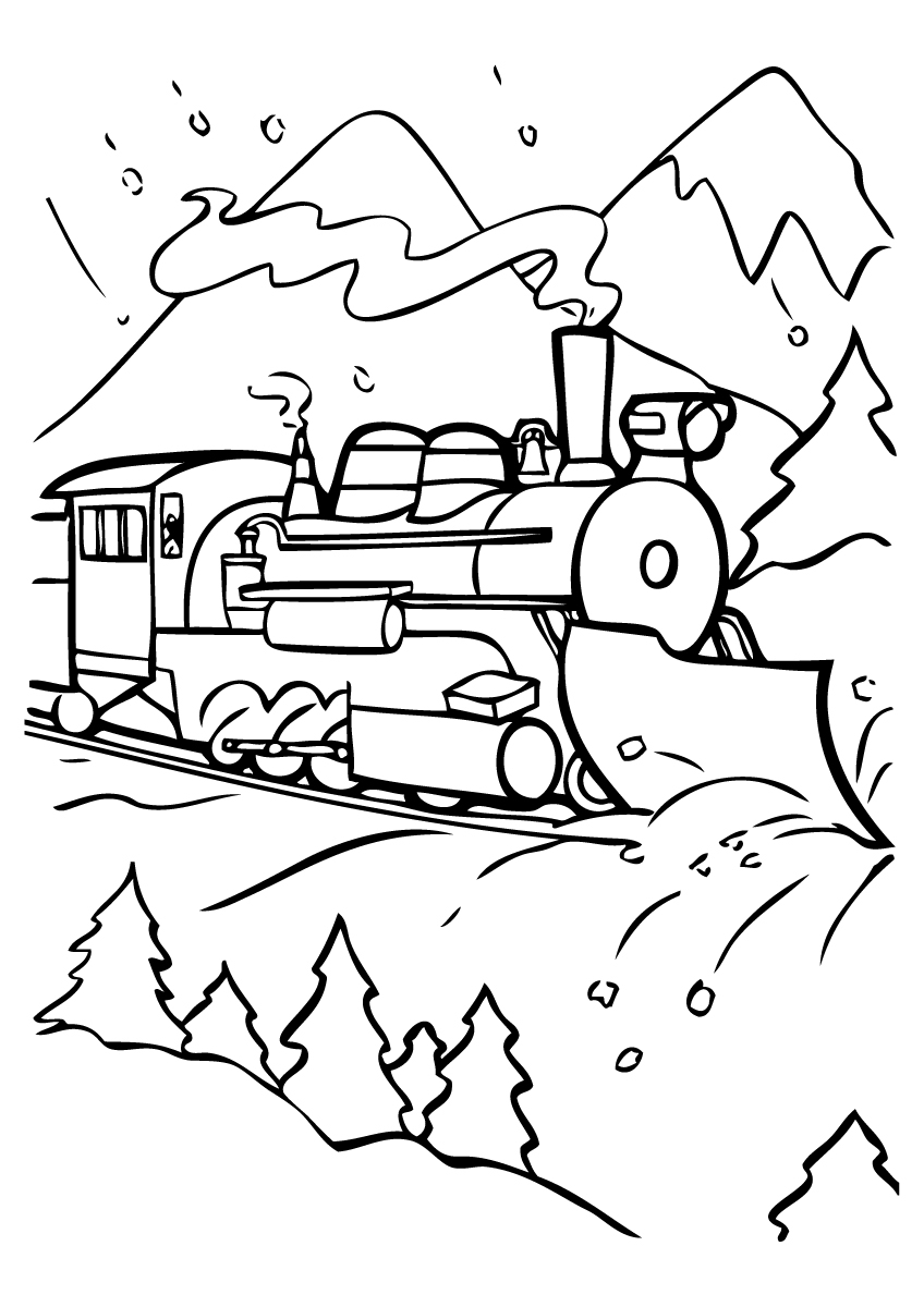848x1200 Subjects The Polar Express Coloring Pages Az Coloring Pages