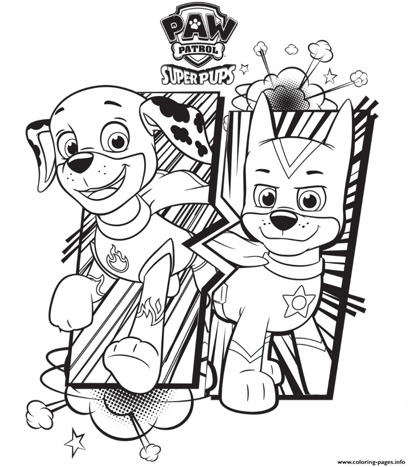 Christmas Paw Patrol Coloring Pages at GetDrawings | Free ...