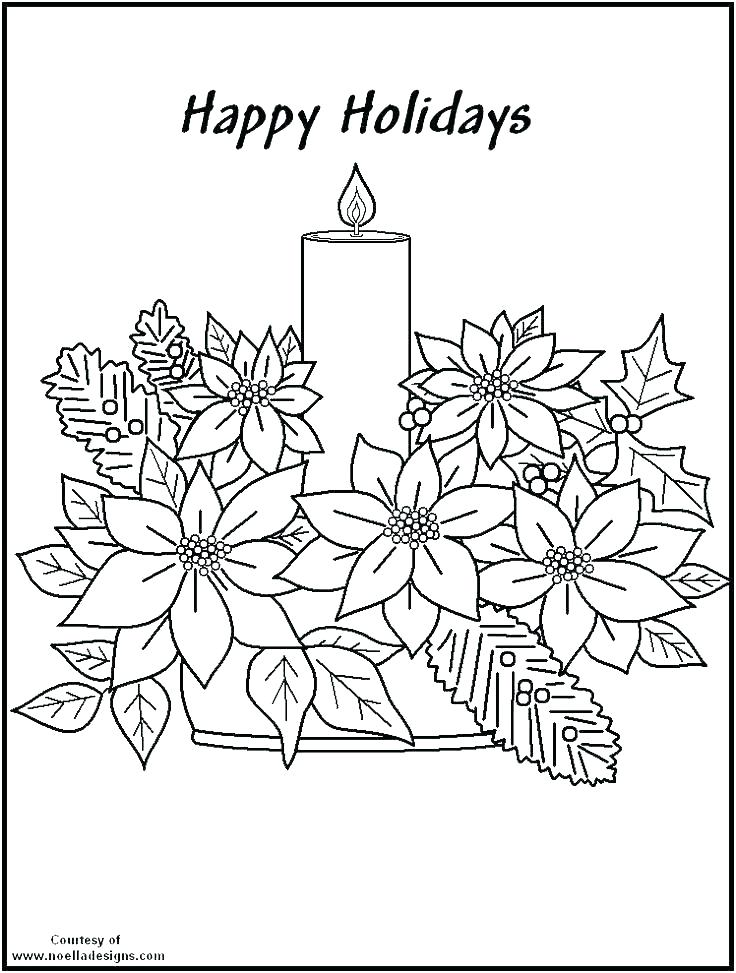 736x973 Poinsettia Coloring Pages Poinsettia Coloring Pages Poinsettia