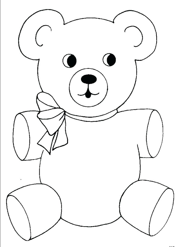 757x1024 Bear Pictures To Color Oozedinfo Bear Pictures To Color Printable