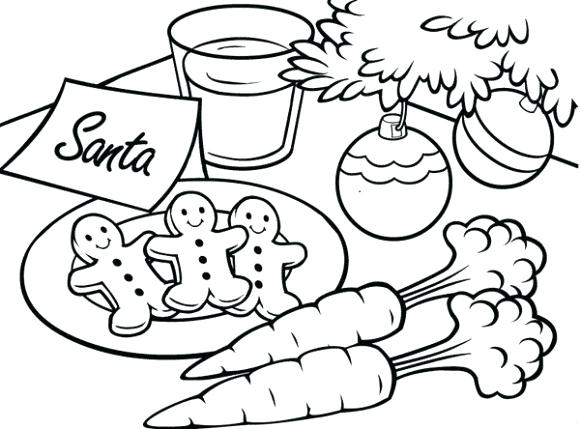 580x429 Coloring Pages Christmas And Reindeer Coloring Pages To Print