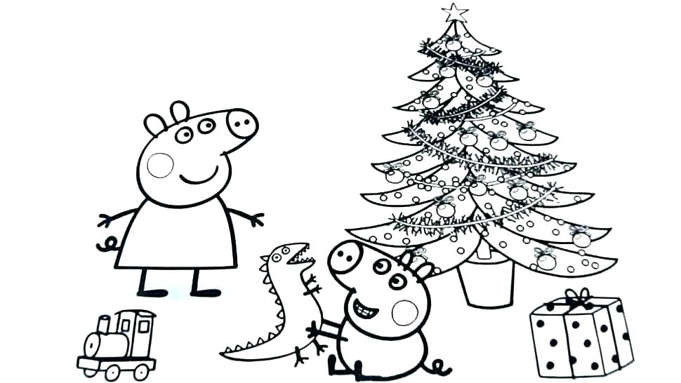 970x546 Christmas Coloring Pages Free Printables Simple Coloring Pages