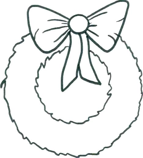 468x517 Wreath Coloring Page Wreath Coloring Page Wreath Coloring Pages