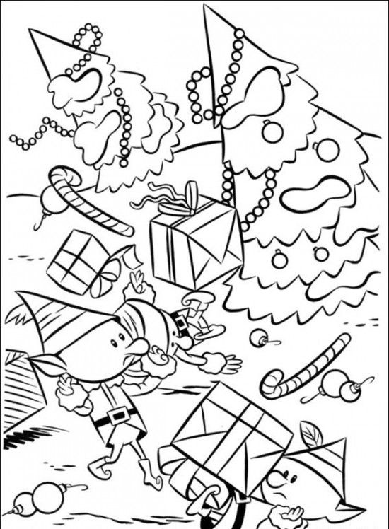 550x748 Rudolph The Red Nosed Christmas Reindeer Coloring Pages