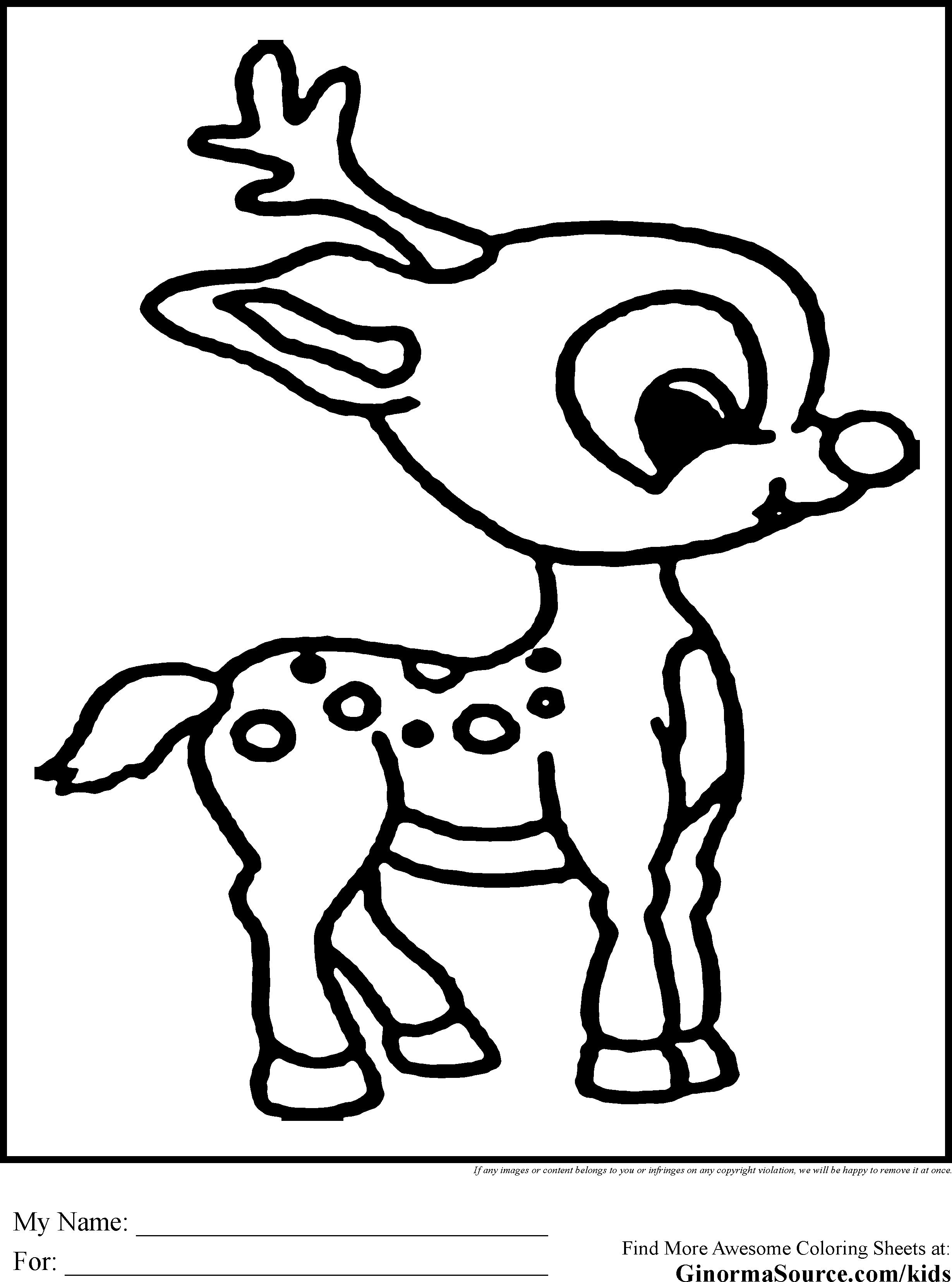 2459x3310 Impressive Rudolph Coloring Sheet Inside Pages