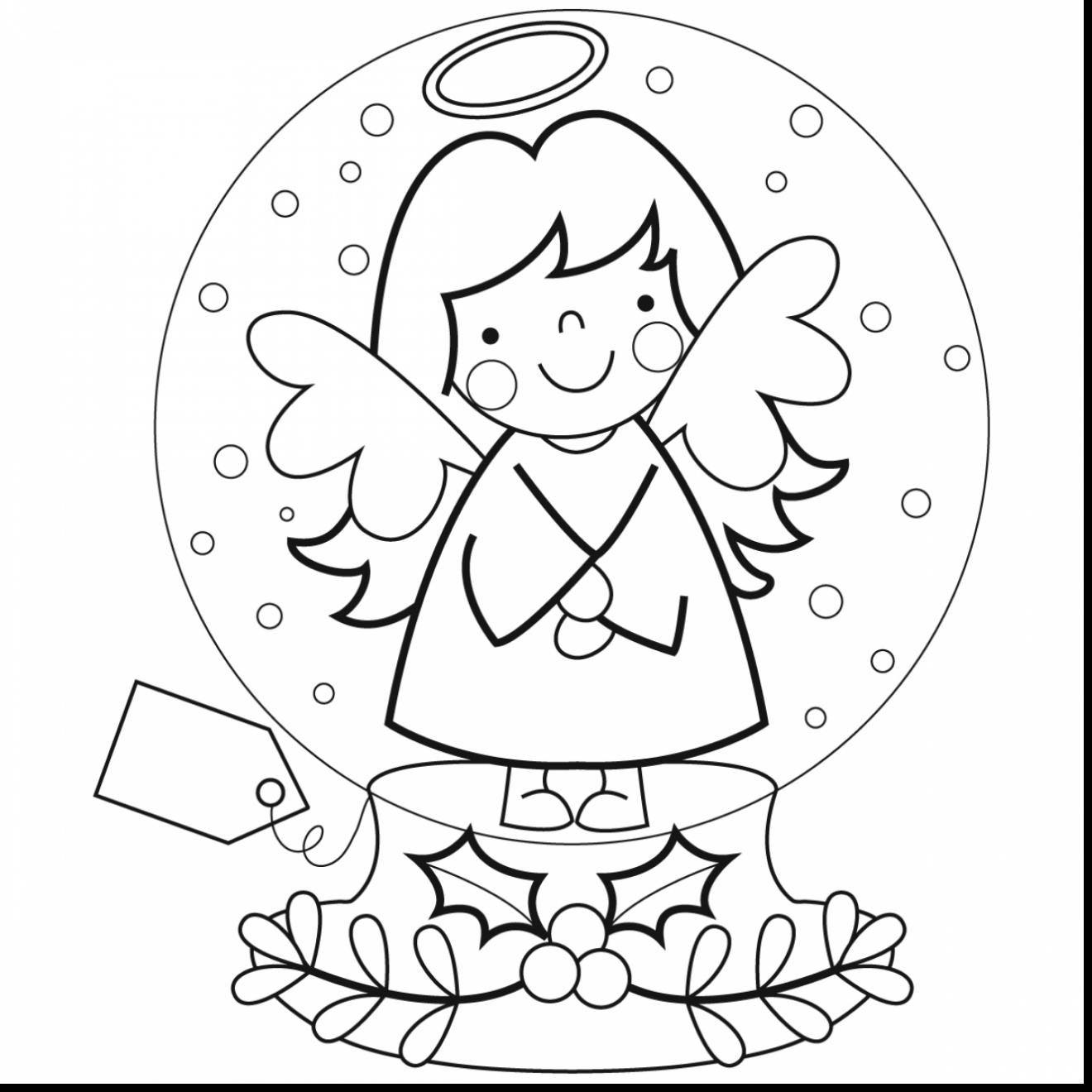 1320x1320 Wonderful Christmas Snow Globes Coloring Pages With Brilliant