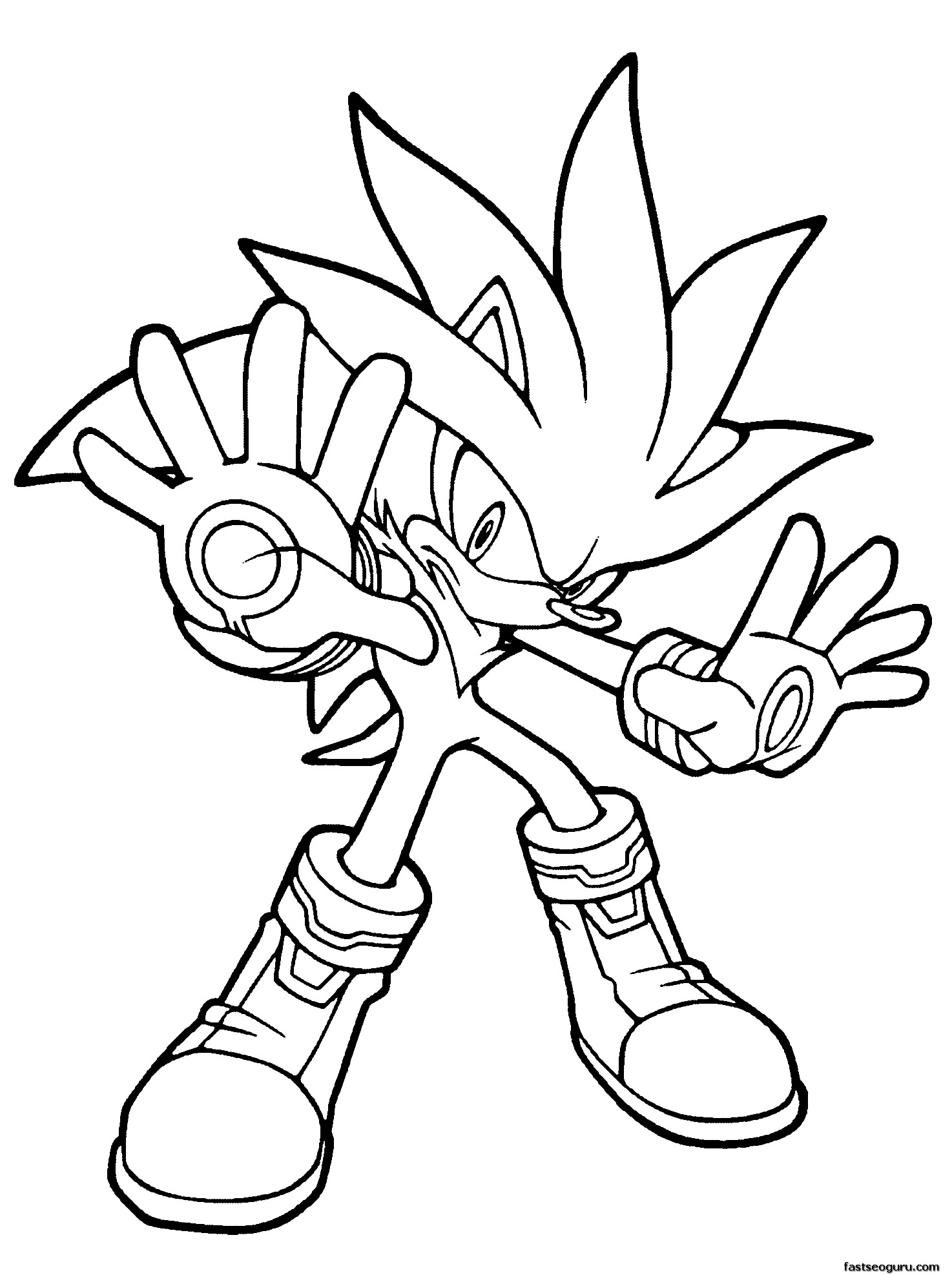 The Best Free Werehog Coloring Page Images Download From 9 Free Coloring Pages Of Werehog At Getdrawings